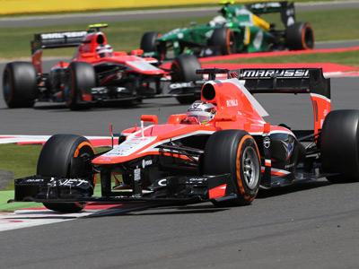 «Маруся» на Гран-при Великобритании