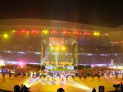 Стадион за год