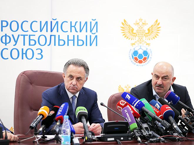 Виталий Мутко и Станислав Черчесов