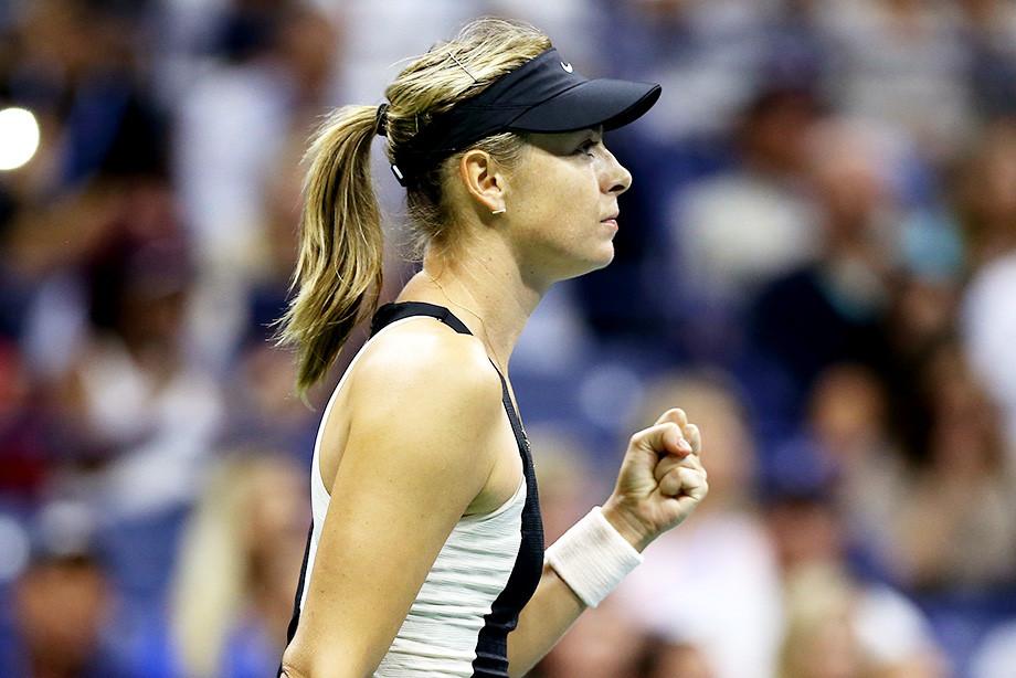 Australian Open. Шарапова отправила Возняцки в нокаут. Как это было