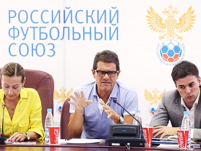 Фабио Капелло встретился с российскими тренерами