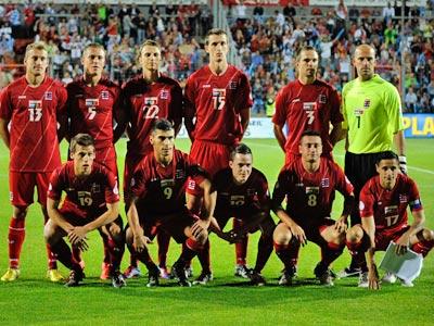 Люксембург перед матчем с Португалией