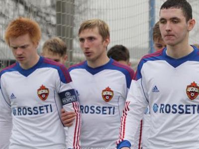ЦСКА проиграл «ПСЖ» в юношеской Лиге чемпионов