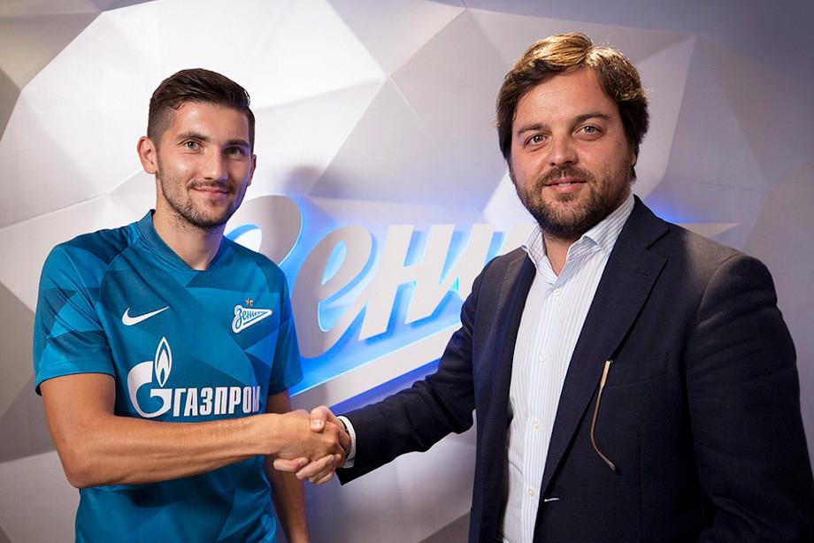 Переход Алексея Сутормина в «Зенит»