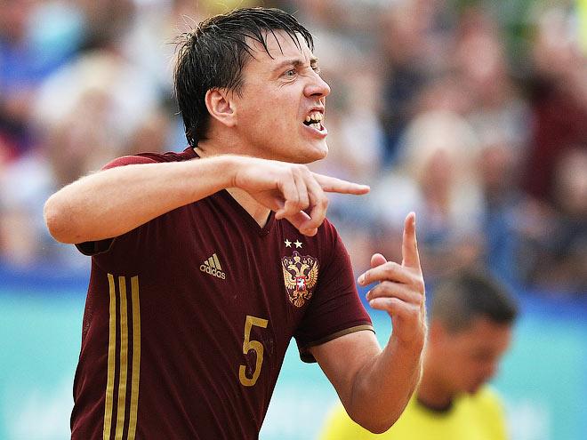 Трансляция матча Суперфинала Евролиги пляжного футбола Россия - Италия