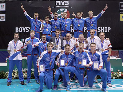 Юношеская сборная России — чемпион мира
