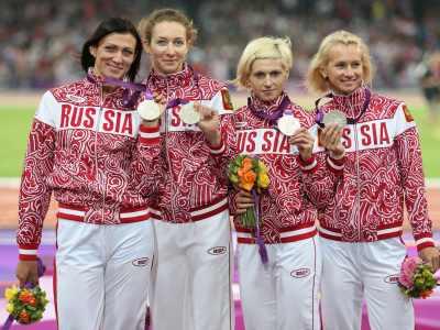 Лондон-2012. Лёгкая атлетика. Сборная России