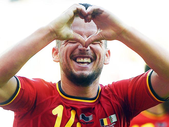 Сборная Бельгии стартовала на ЧМ-2014 с победы