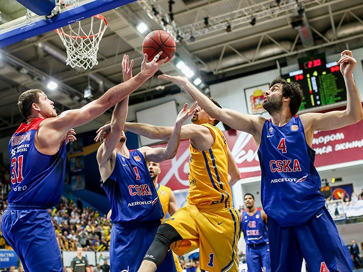 ЦСКА, «Химки» и «Зенит» претендуют на 1-е место в регулярном чемпионате Лиг