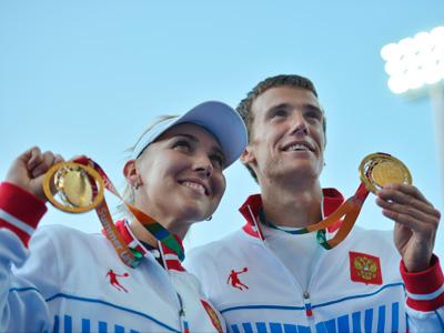 Елена Веснина и Андрей Кузнецов