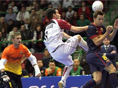 Первые матчи ½ футзального чемпионата Испании