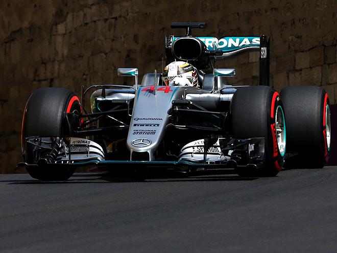Нико Росберг выиграл квалификацию Гран-при Европы Формулы-1