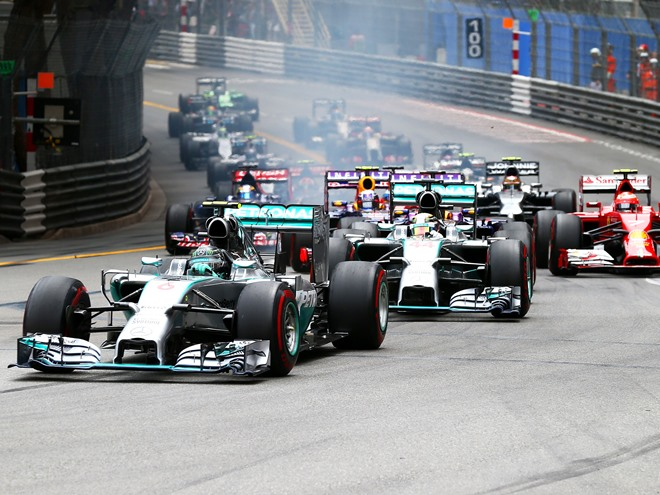 Росберг выиграл Гран-при Монако, Квят сошёл