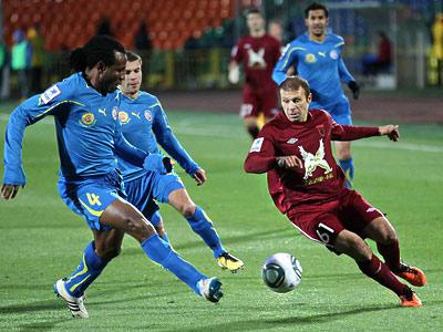 «Рубин» уверенно проводит свои домашние матчи, а «Ростов» - выездные