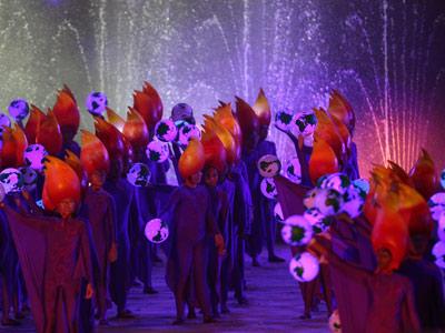 Закрытия юношеских Олимпийских Игр в Сингапуре