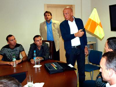 Пьерлуиджи Коллина встретился с журналистами
