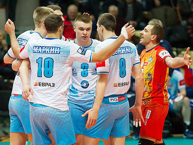 Волейбол. «Газпром-Югра» — «Динамо» (Москва) — 0:3