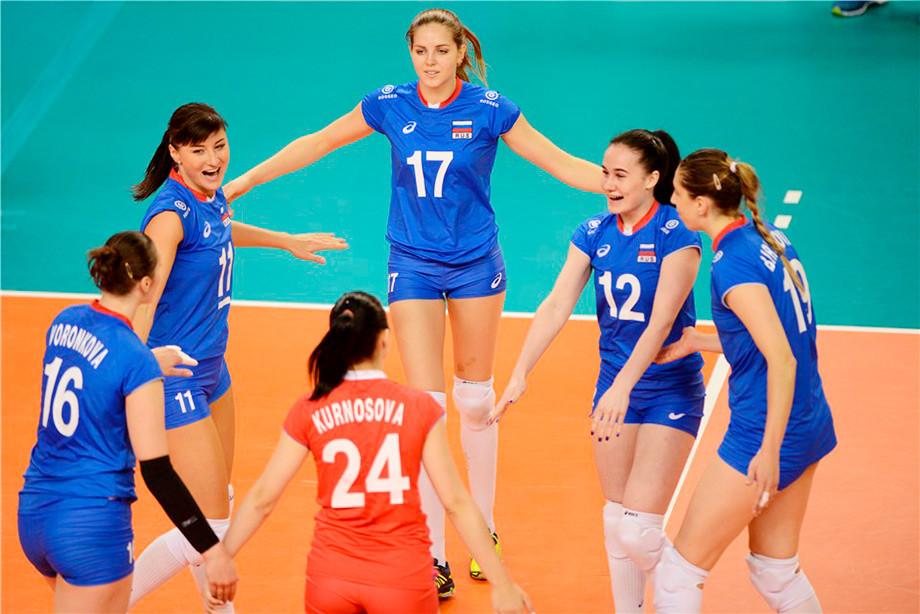 Россия — Доминиканская республика — 3:0