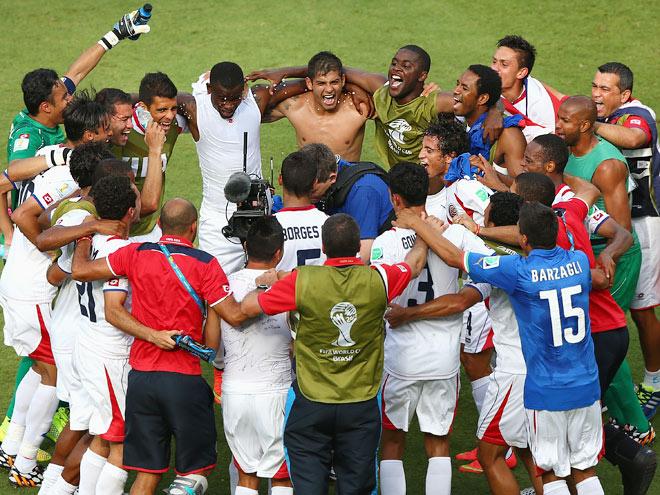 Сборная Коста-Рики вышла в плей-офф