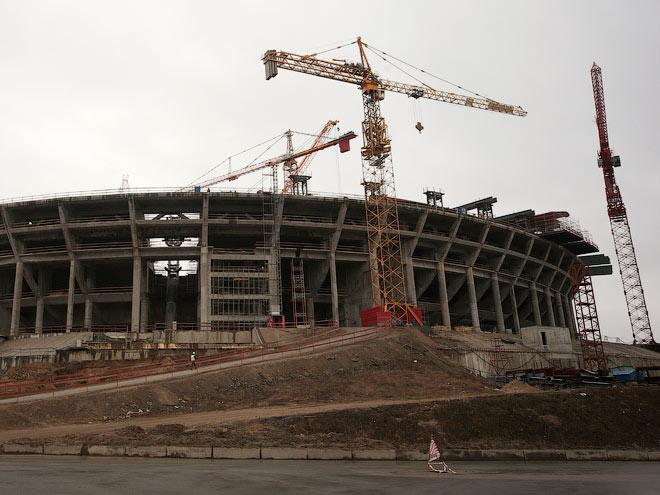 «Зенит Арену» планируется сдать до 2017 года