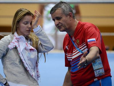 Екатерина Дьяченко и Кристиан Бауэр