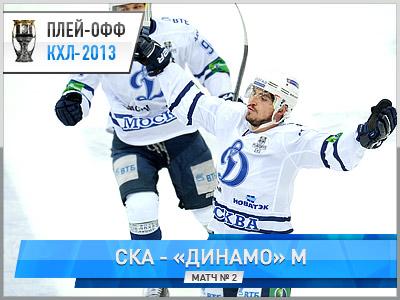 «Динамо» выиграло у СКА - 4:2
