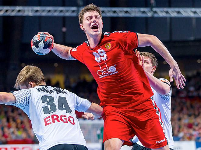 Чемпионат Европы по гандболу. Россия проиграла Германии – 29:30