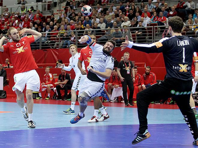 Чемпионат Европы по гандболу. Россия проиграла Дании