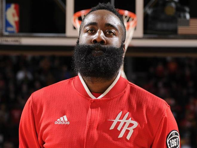 Джеймс Харден набрал за семь неполных сезонов в НБА 10 497 очков