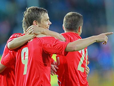 Россия — Люксембург — 4:1
