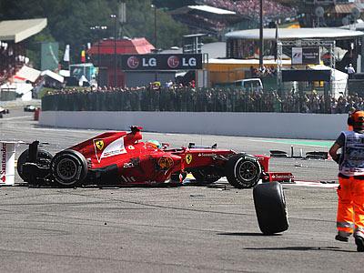 Проблемы Феттеля и Алонсо в сезоне-2012 Формулы-1