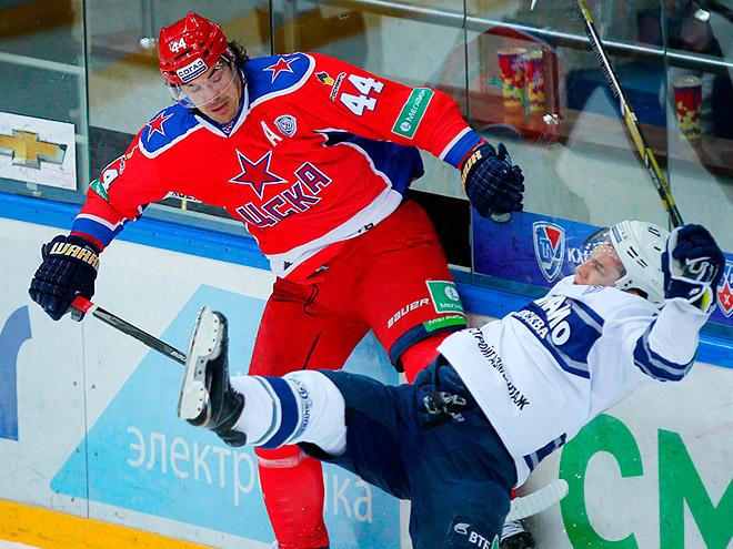 Евгений Артюхин против московского «Динамо»