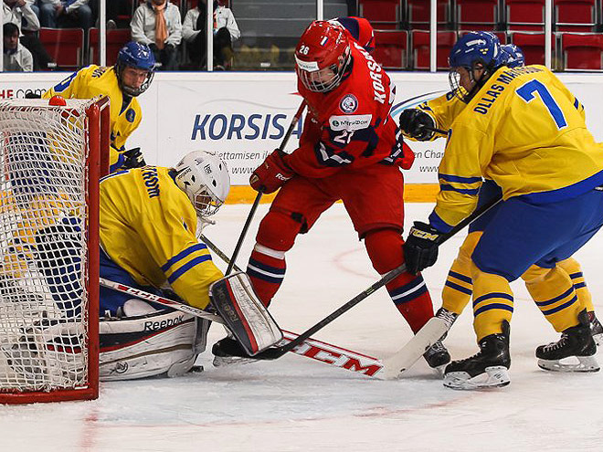 Сборная России почти спасла игру со Швецией