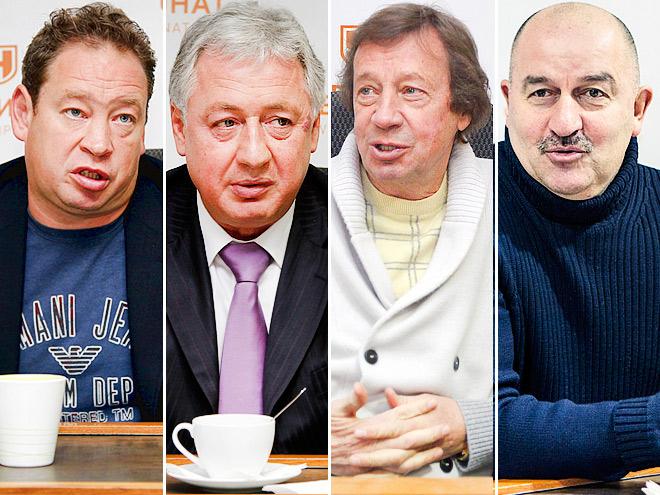 Слуцкий, Черчесов и другие гости «Чемпионата»
