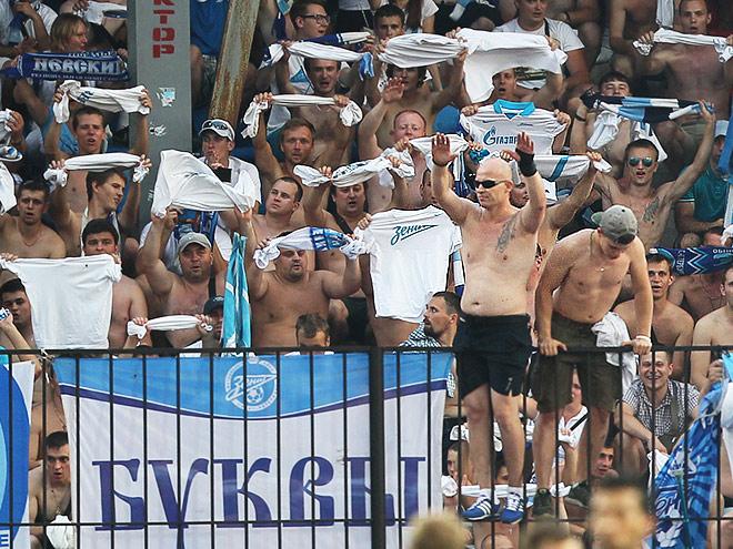 Фанаты «Зенита» устроили беспорялки в Туле