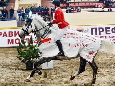 Итоги чемпионата России по конному спорту в интервью Бориса Кузьмина
