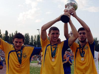 О молодёжных и юношеских Евро украинцев