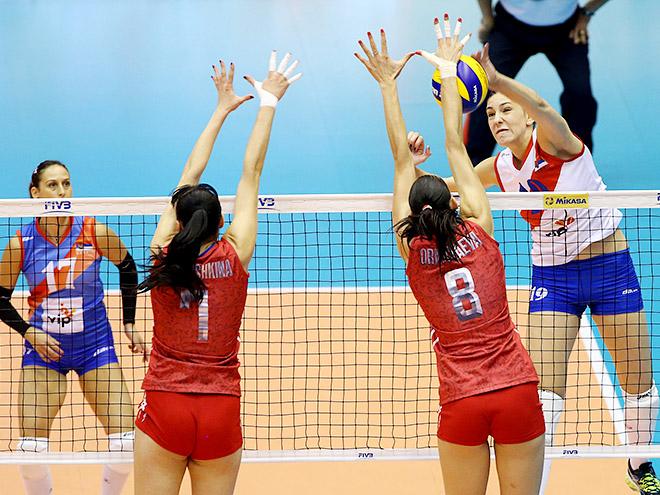 Россия — Сербия