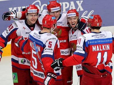 Сборная России разгромила сборную Швеции - 5:1