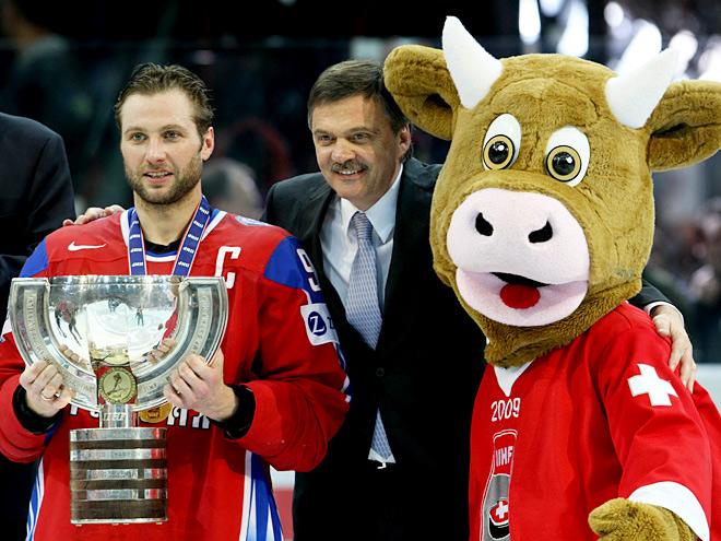 Всё золото нашего хоккея. Чемпионат мира-2009