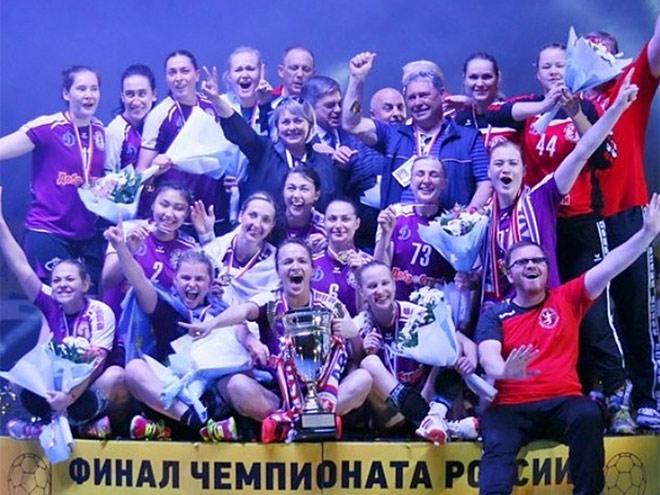 ЖГК «Астраханочка» — чемпион России