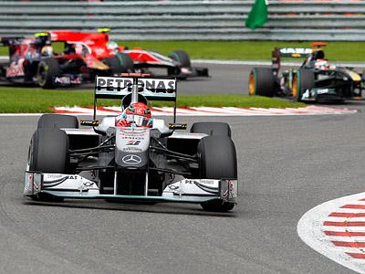 Шумахер: жаль, что дождь больше не пошёл