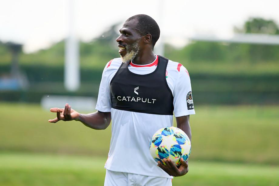 26-летний игрок сборной Кении осветлил бороду