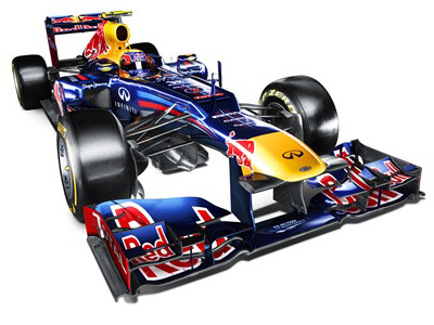 Команда «Ред Булл» представила машину на сезон-2012 Формулы-1