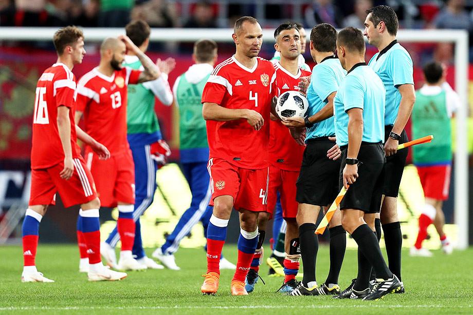 Россия — Турция — 1:1