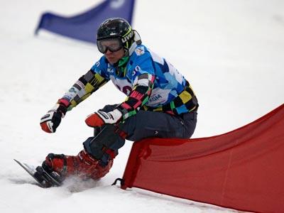 Сноубордисты первыми ступили на снег