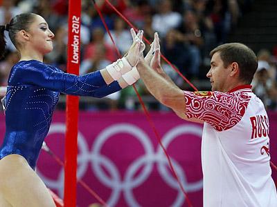 Алия Мустафина и Евгений Гребёнкин