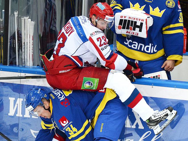 Чешские хоккейные игры. Россия — Швеция