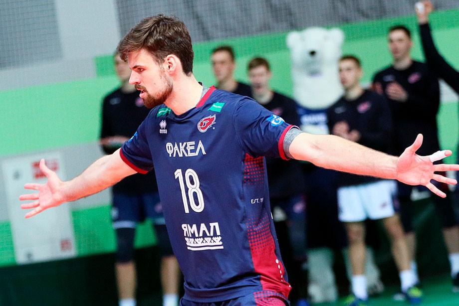 Интервью с волейболистом «Факела» и сборной России Егором Клюкой