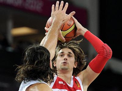 Лондон-2012. Баскетбол. Алексей Швед